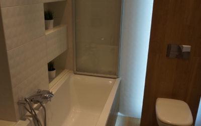 Metamorfoza łazienki stan deweloperski